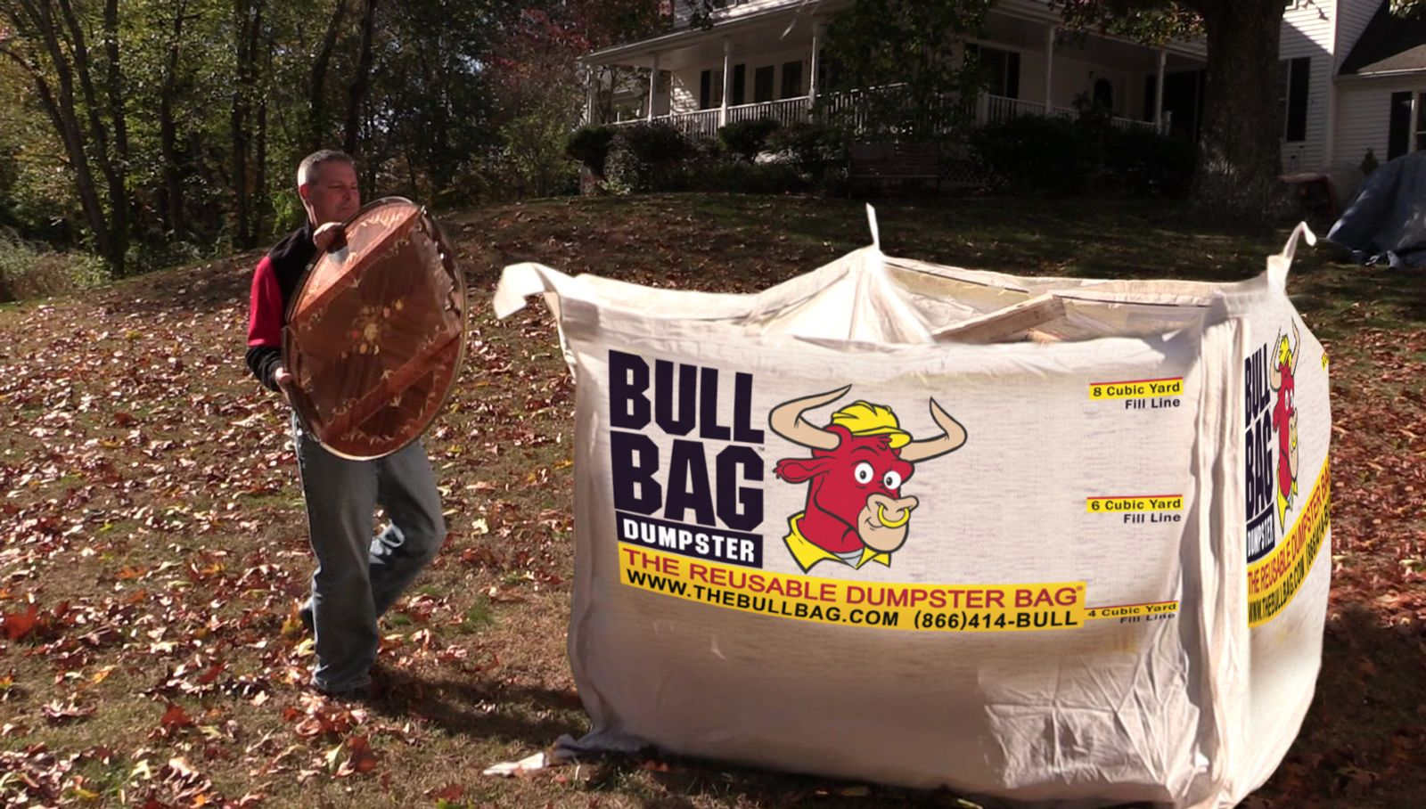 Filling A BullBag